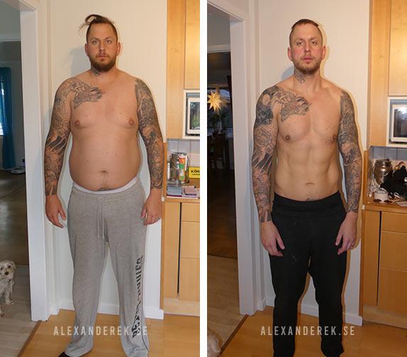 Mikael Robertssons resultat efter 10 veckor